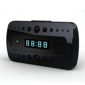 Reloj despertador de la cámara espía HD - Reloj despertador de la cámara espía