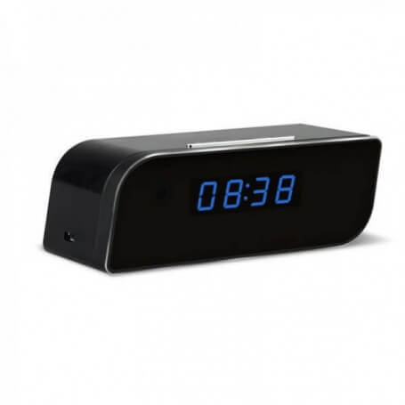 Wake up with Full HD spy camera - Spy camera clock