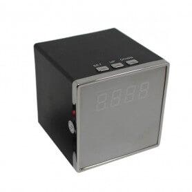Réveil mini caméra espion wifi Full HD - La caméra espion réveil est un accessoire décoratif qui int&egra