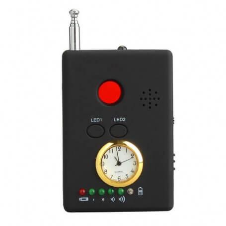 Détecteur caméra espion et ondes - Ce détecteur de caméra avertit de la présence de tout équipement