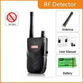 Détecteur de caméra sans fil professionnel - Le détecteur de caméra espion est dédié pour les profe