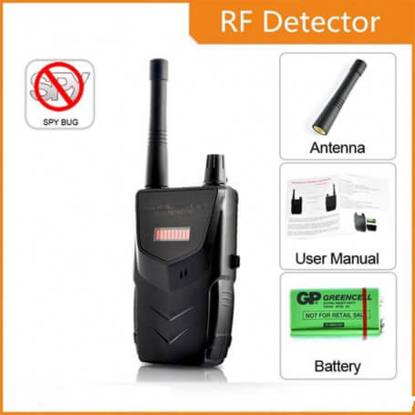 Detector de cámara inalámbrico profesional - Detector de micro espías