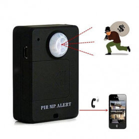 Micro spy has motion detector - The micro spy is a device that condenses several functions. It benefits from high technology to