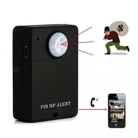 Micro spy has motion detector - Micro spy GSM