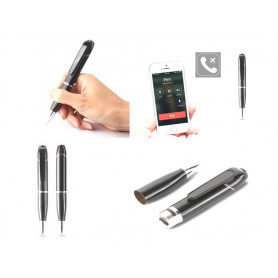 Bluetooth And GSM-Connected Spy Microphone Pen - GSM Spy Microphone