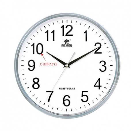 Wifi HD surveillance camera clock - Clock with camera