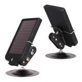 Chargeur solaire pour caméra de chasse - Le chargeur pour caméra de chasse GSM est pourvue d'une autonomie illimit