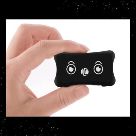 Traceur GPS pour animaux - Compact, batterie haute capacité d'une autonomie de 15 jours, localisable à une p