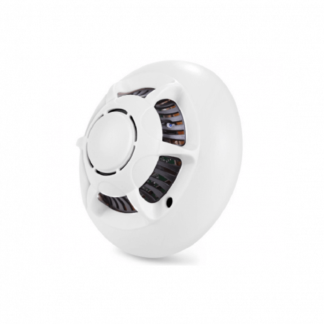 Smoke detector with camera spy - From the high-tech spy camera smoke detector is a multifunctional product. Reliable and discre