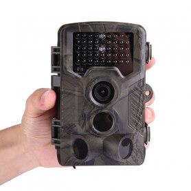 Caméra de Chasse Infrarouge Full HD - Dotée d'un objectif photo 16 millions de pixels, au temps de déclenche