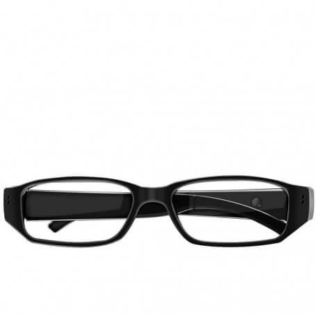 Lunettes de vue caméra espion - La lunette caméra espion HD comporte un objectif invisible. Offrant une grande discr&eac