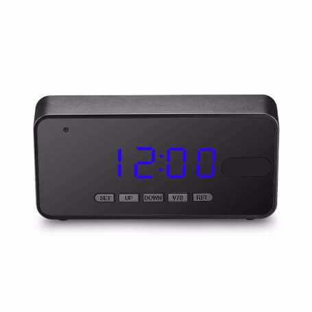 Alarm clock camera spy full HD with motion detection - Beautiful clock spy camera Full HD 1080 p, motion detection, infrared vi