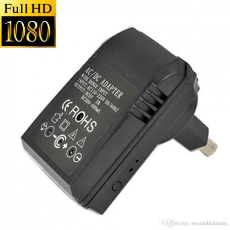 Chargeur mini caméra espion Full HD - Lechargeur pour mini caméra espionest présenté vis