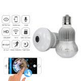 Ampoule caméra Haute Définition wifi 360 degrés - Ampoule caméra