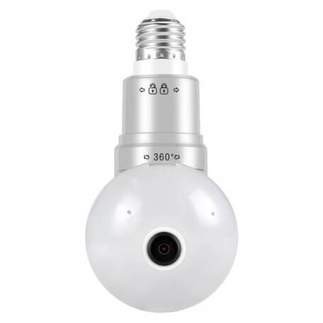 Ampoule caméra espion sans Fil Full HD 1080P - Ampoule caméra