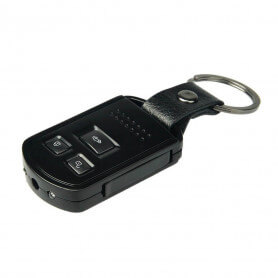 Llave de coche de cámara con visión infrarroja - Puerta de la llave de la cámara espía