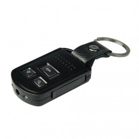 Key car camera with infrared vision - Keychain spy camera