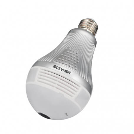 Bulb performance 3 million pixels camera - Light bulb camera