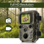 Mini compact hunting 1080 p 12MP camera - Photographic trap Full HD with 12 million pixels sensor, standby time of 6 months, sc