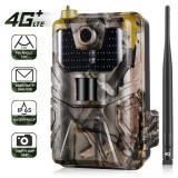 Caméra de chasse nouvelle génération 4G 16 millions de pixels - Caméra de chasse ultra puissante, technologie 4G, capteu