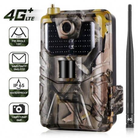 Hunting camera next-generation 4G 16 million pixels - Ultra powerful hunting camera, 4G technology, 16 million pixel image sens
