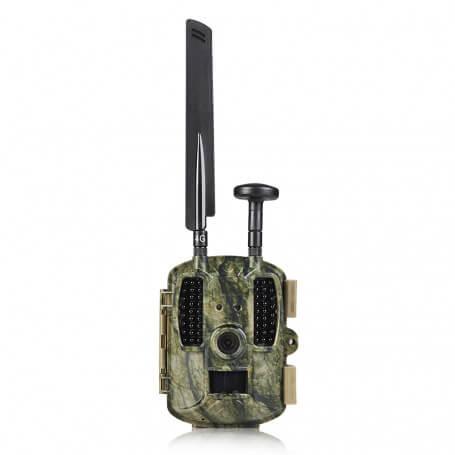 Caméra de chasse GSM 4G Full HD 12MP avec balise GPS - Caméra de chasse pour vos missions de surveillance, capteur 12 mi