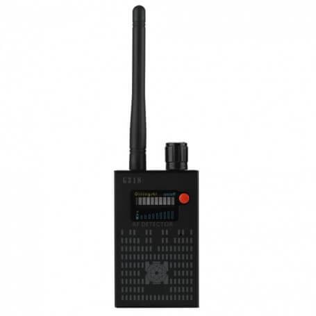 Détecteur de micro et caméra espion haute performance - Détecteur d'ondes haute performance pour détecter de