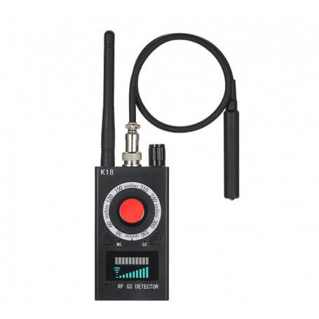 Mini detector microphone and camera wifi spy - Micro spy detector