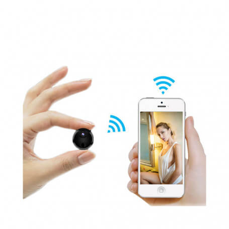 Mini Wifi HD cámara IP con visión infrarroja - Otra cámara espía