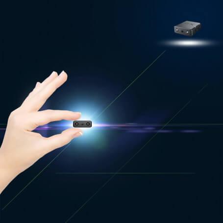 Spy camera ultra compact Full HD night vision - Micro spy camera Full HD 1080 p, infrared vision with 2 Leds 940nm, movement de
