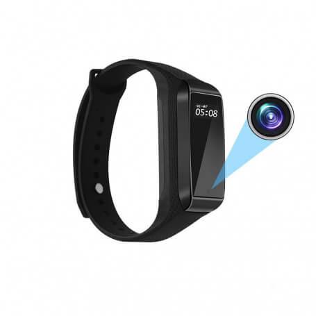 Caméra espion Full HD incorporée dans une montre de sport - Très belle montre caméra espion Full HD 1080P, bracel