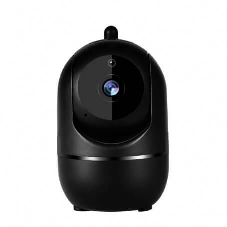 Smart IP Full HD inside 2MP camera - Mini security camera IP Full HD 1080 p, remote viewing application, infrared vision, two-w