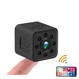 Mini caméra sport 12 millions de pixels Full HD 1080P wifi - Mini caméra Full HD Wifi 1080P, vision infrarouge, vision &