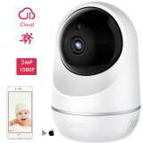 Caméra de surveillance IP 2 millions de pixels sans fil - Mini caméra de surveillance 2 millions de pixels Full HD 1080P