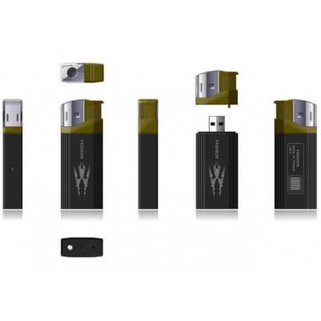 Lighter with a mini camera HD - Spy camera