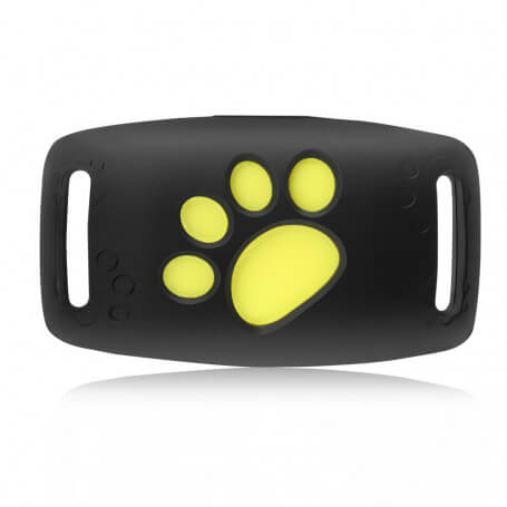 Collar with tag GPS for pets - GPS collar for pets allowing you to monitor and locate them permanently. Small and light, 96 gra