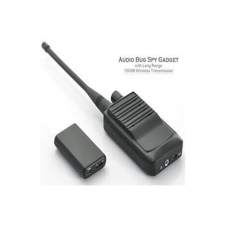 Micro spy with listening HD - The micro spy combines the discretion and efficiency. This device has two modules that work toget