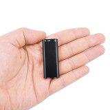 Mini micro enregistreur digital 8Go - Ce mini micro enregistreur espion associe la qualité de son et la discrétio