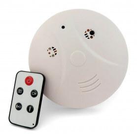 Détecteur de fumée mini caméra espion - Détecteur de fumée caméra