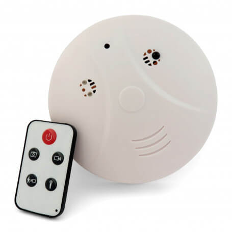 Smoke detector spy camera mini - Smoke camera detector