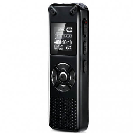 Recorder voice high performance - This voice recorder is a professional quality integrating various technologies, including the