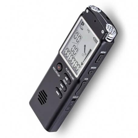 Enregistreur vocal USB Professionnel aux multiples capacités - Ce dictaphone enregistreur numérique est un modèle