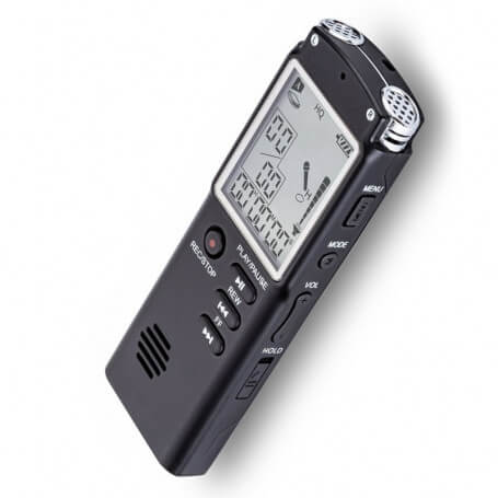Voice recorder USB professional to multiple capabilities - This digital recorder dictaphone is a professional model with large