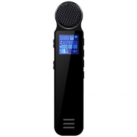 Enregistreur vocal de haute qualité - Dictaphone de haute qualité, qualité de son élevé, enregistre