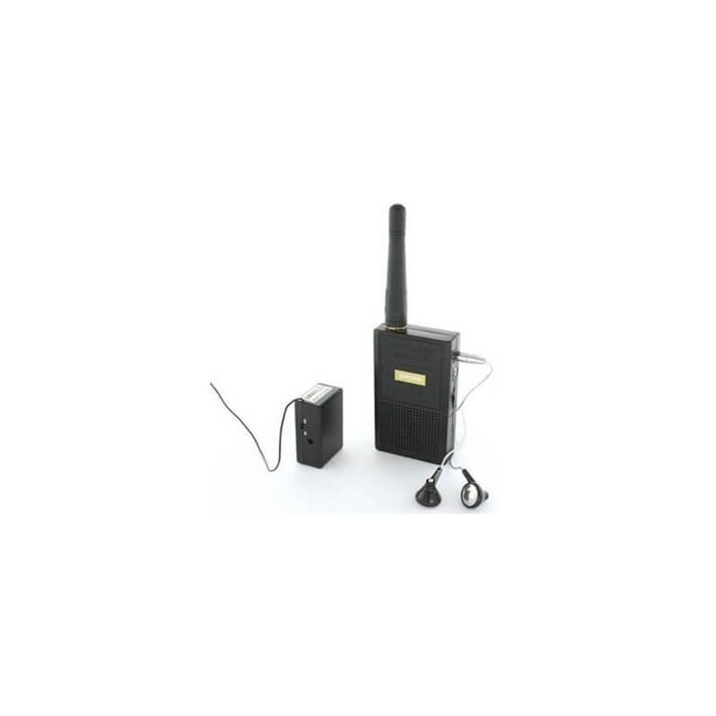 Citofono Wireless Lunga Portata.Microfono Spia Wireless A Lunga Distanza